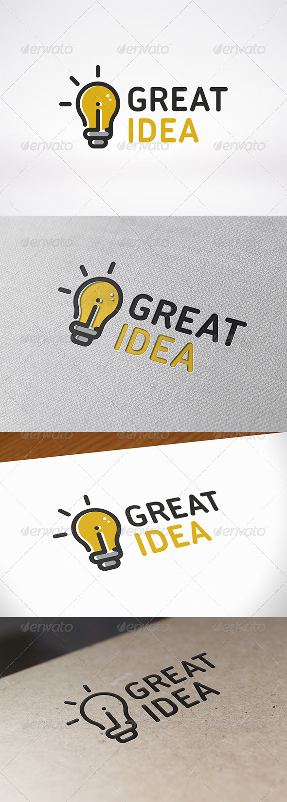 GraphicRiver Idea Logo Template 6719840