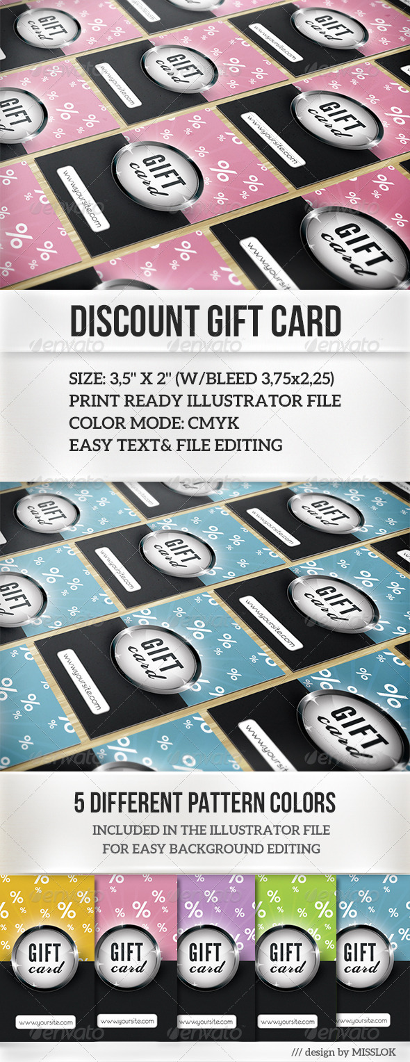 GraphicRiver Discount Gift Card 6721241