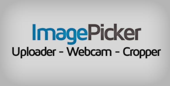 ImagePicker: Uploader - Webcam - Cropper - CodeCanyon Item for Sale
