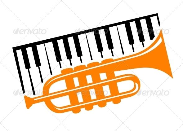 GraphicRiver Piano and Trumpet 6722632