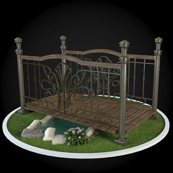 Bridge 036 - 3DOcean Item for Sale