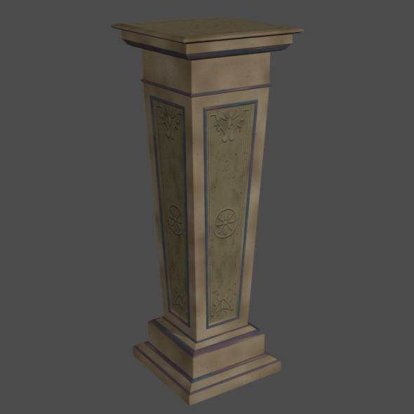 3DOcean Decorative Stone Pillar 6689076