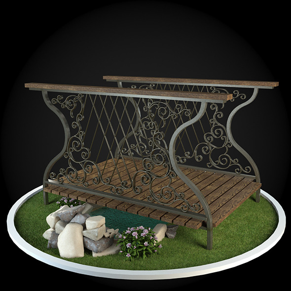 3DOcean Bridge 039 6723715