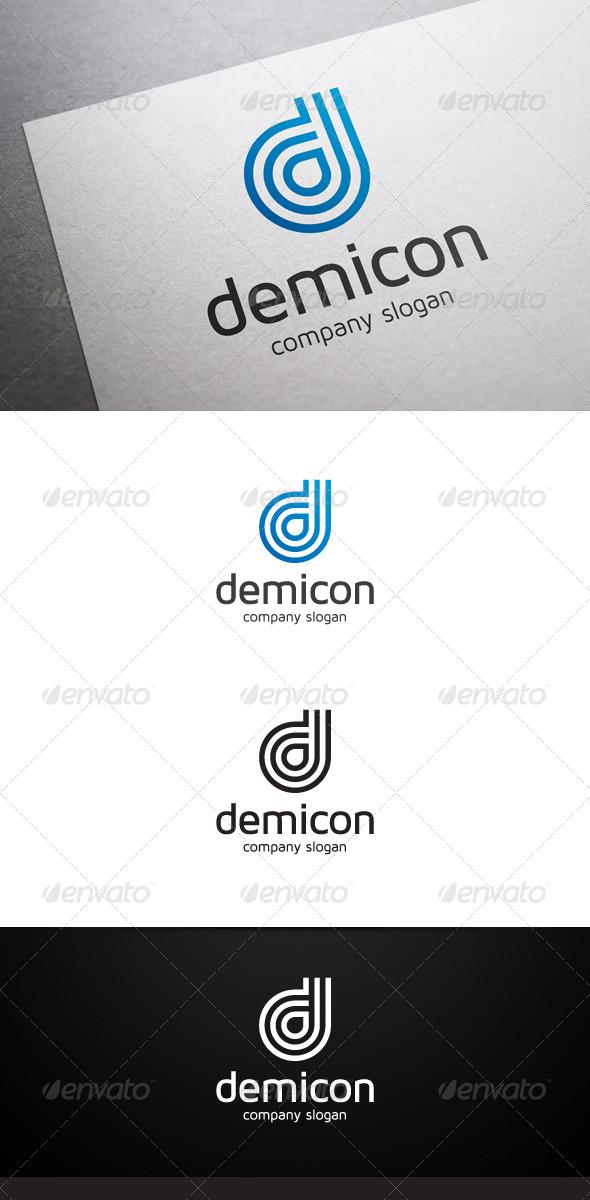 GraphicRiver Demicon D Letter Logo 6724391