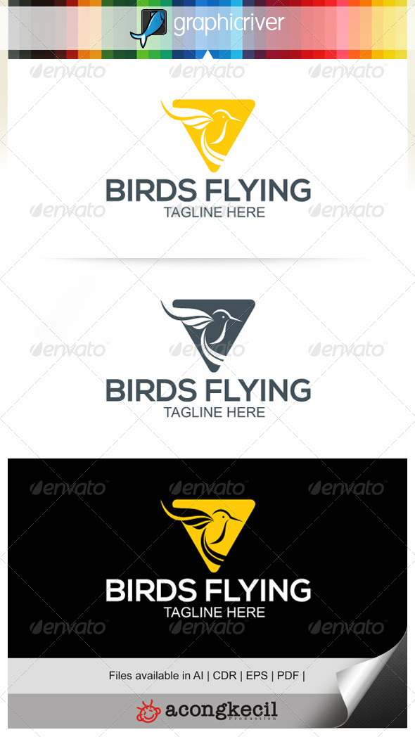 GraphicRiver Bird Flying 6724536