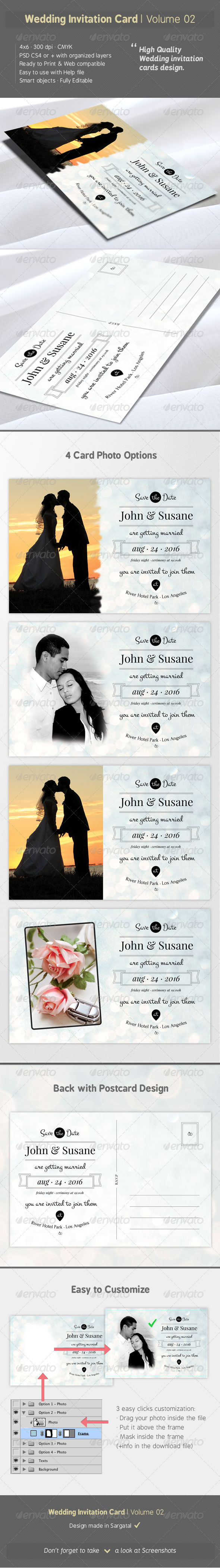 Wedding Invitation Card - Volume 02 - Weddings Cards & Invites