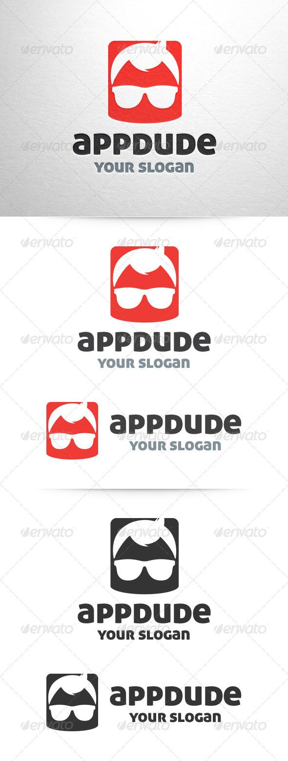 GraphicRiver App Dude Logo Template 6724956