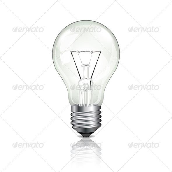 GraphicRiver Lightbulb Vector Illustration 6724957