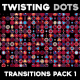 Twisting Dots Transitions - VideoHive Item for Sale