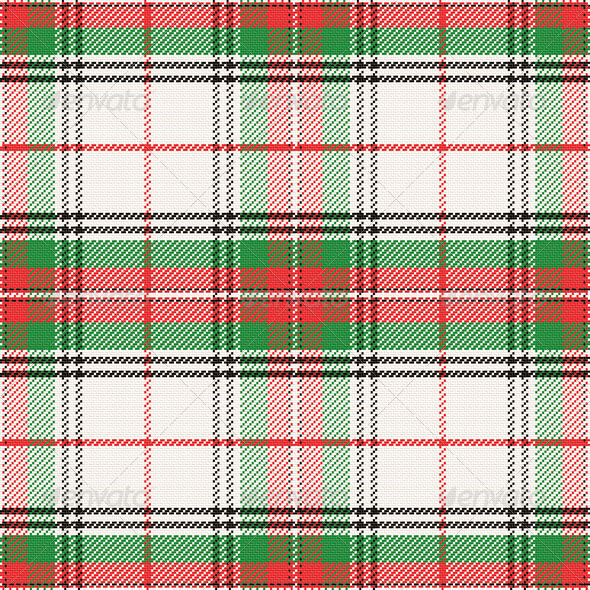 GraphicRiver Vector Seamless Pattern Scottish Tartan 6725035