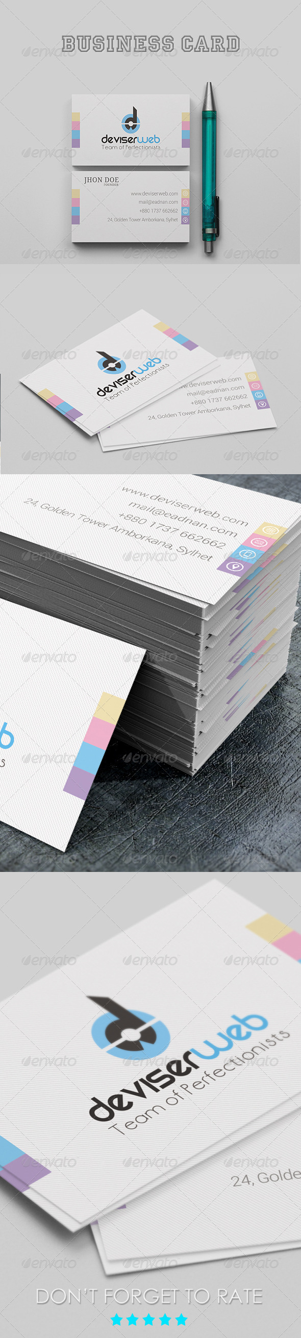 GraphicRiver Corporate Business Card 6725076
