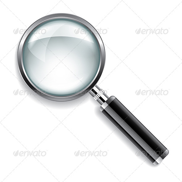 GraphicRiver Magnifying Glass Illustration 6725202
