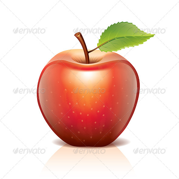 GraphicRiver Red Apple 6725292