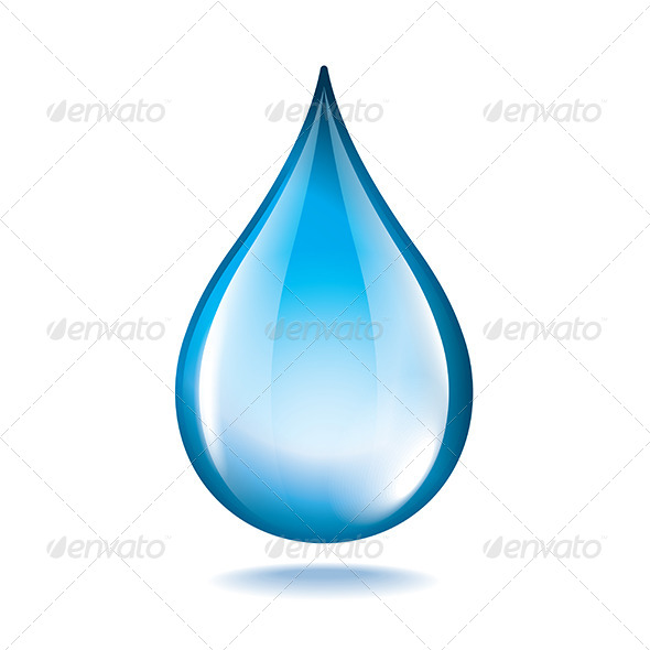 GraphicRiver Water Drop 6725320