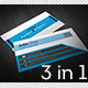 Modern Blue Business Cards Bundle - GraphicRiver Item for Sale