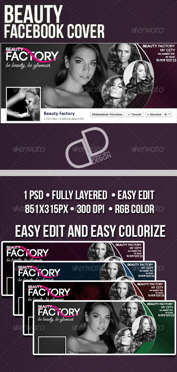 GraphicRiver Beauty Facebook Timeline Cover 6726276