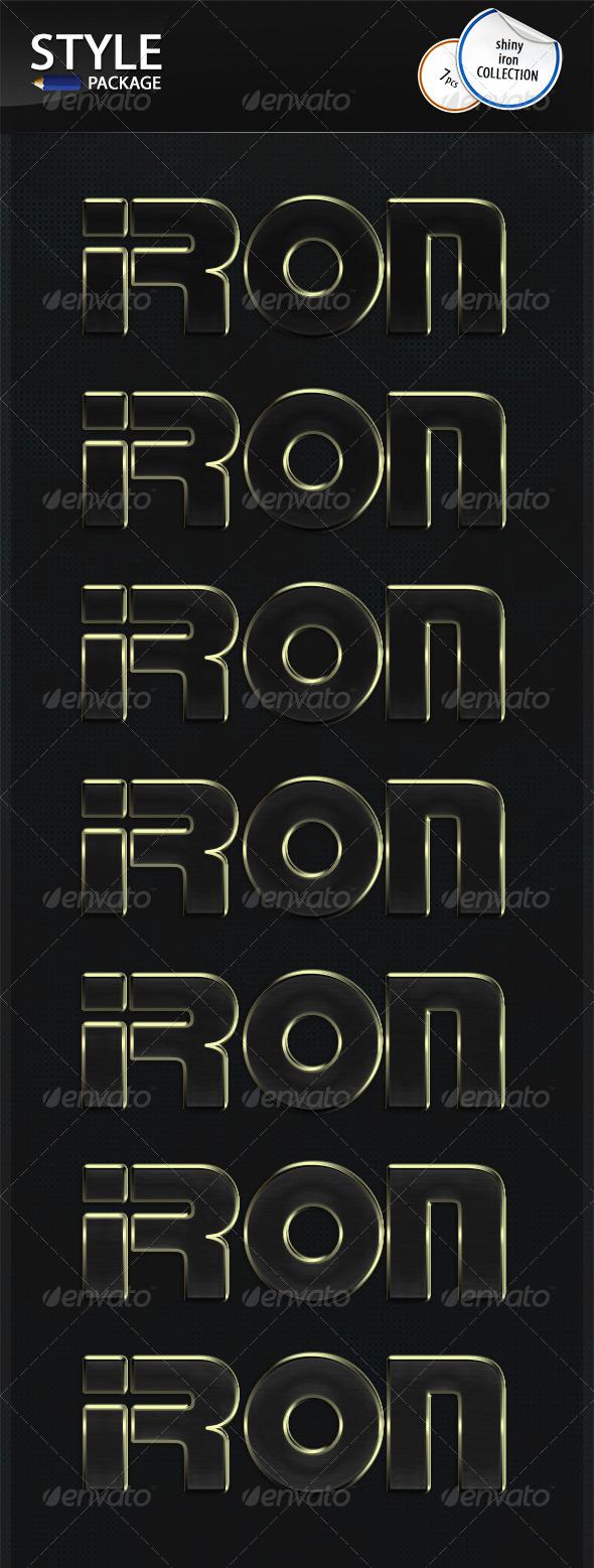 GraphicRiver Shiny Iron Styles 6726426