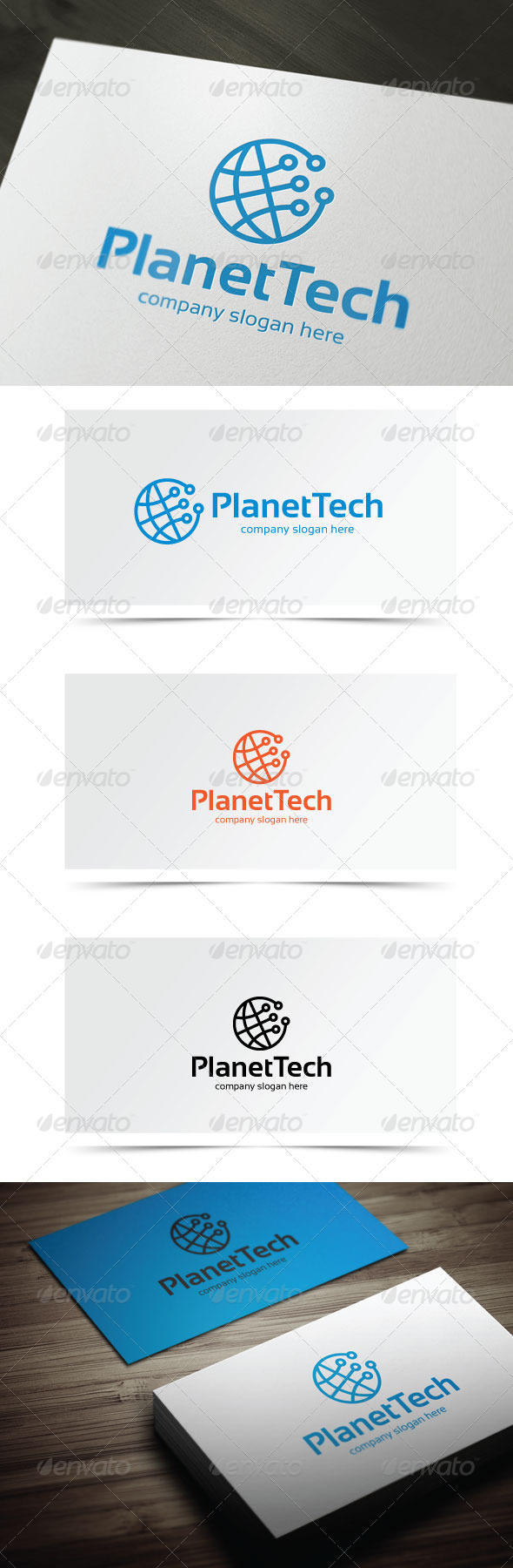 GraphicRiver Planet Tech 6726700