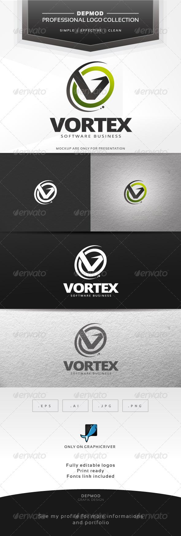 GraphicRiver Vortex Logo 6726808