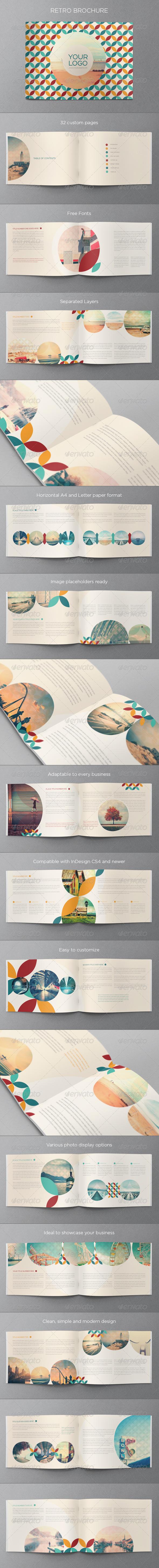 GraphicRiver Retro Brochure 6726811