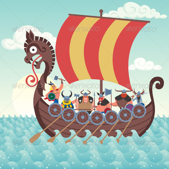 GraphicRiver Viking Ship 6726872