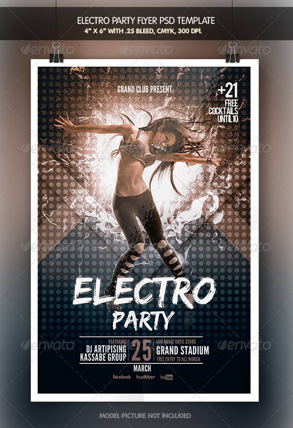 GraphicRiver Electro Party 6726875