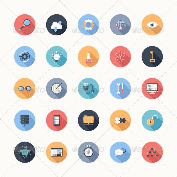 GraphicRiver Seo Icons 6727038