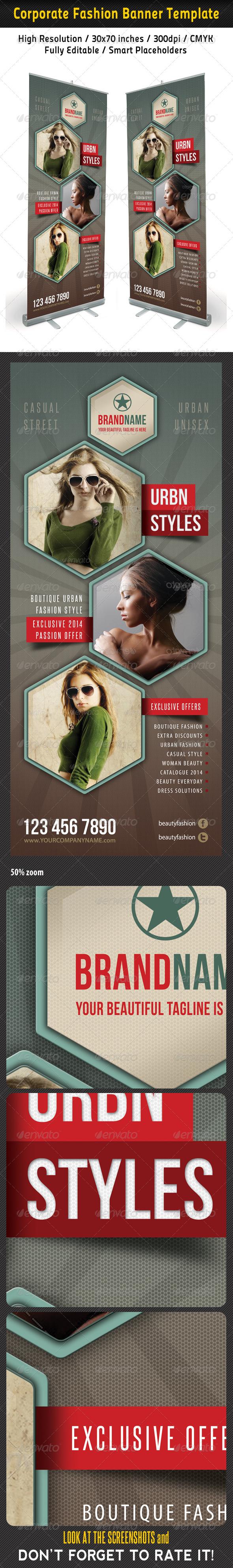 Fashion Multipurpose Banner Template 31 - Signage Print Templates
