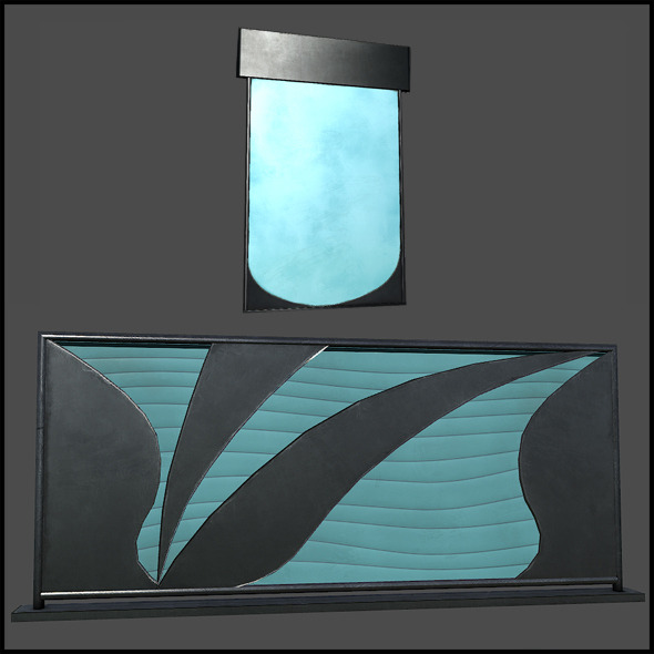 Glass Art - 3DOcean Item for Sale