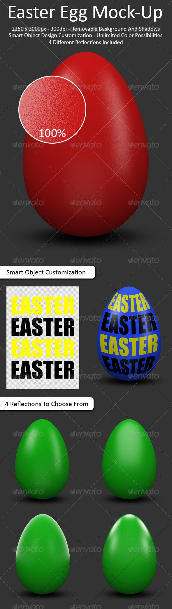 GraphicRiver Easter Egg Mock-Up 6729127