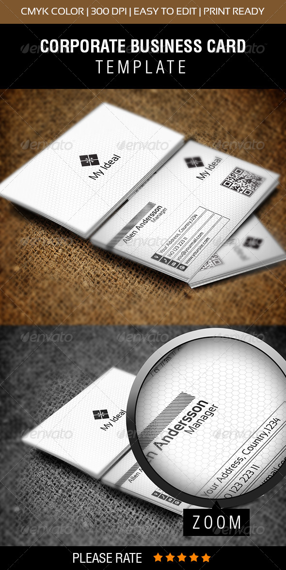 GraphicRiver My Ideal Business Card 6720199