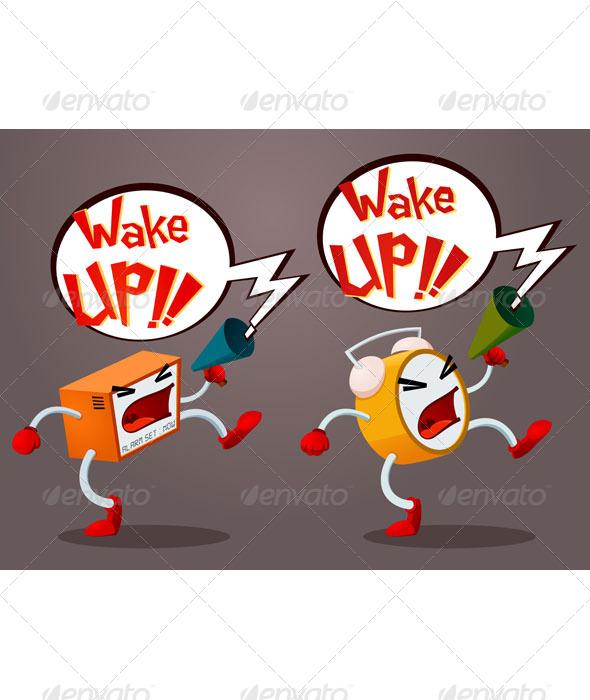 GraphicRiver Screaming Alarm 6729153
