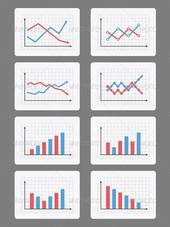 GraphicRiver Graphs and Charts 6729214