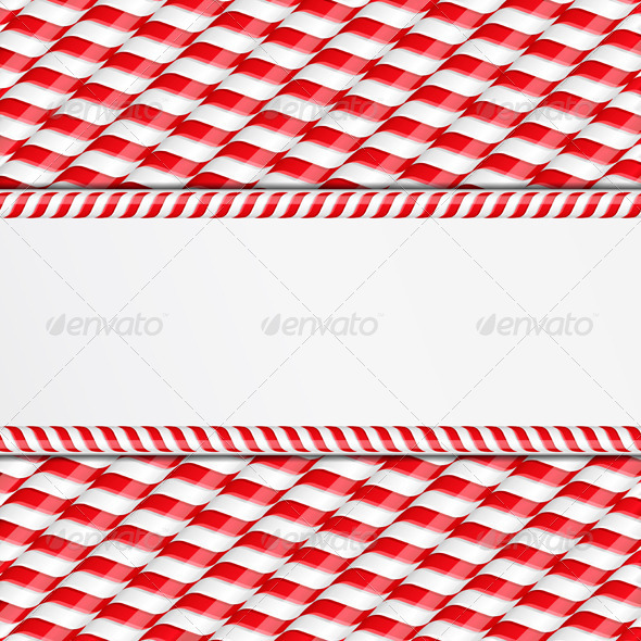 GraphicRiver Candy Canes Background 6729216