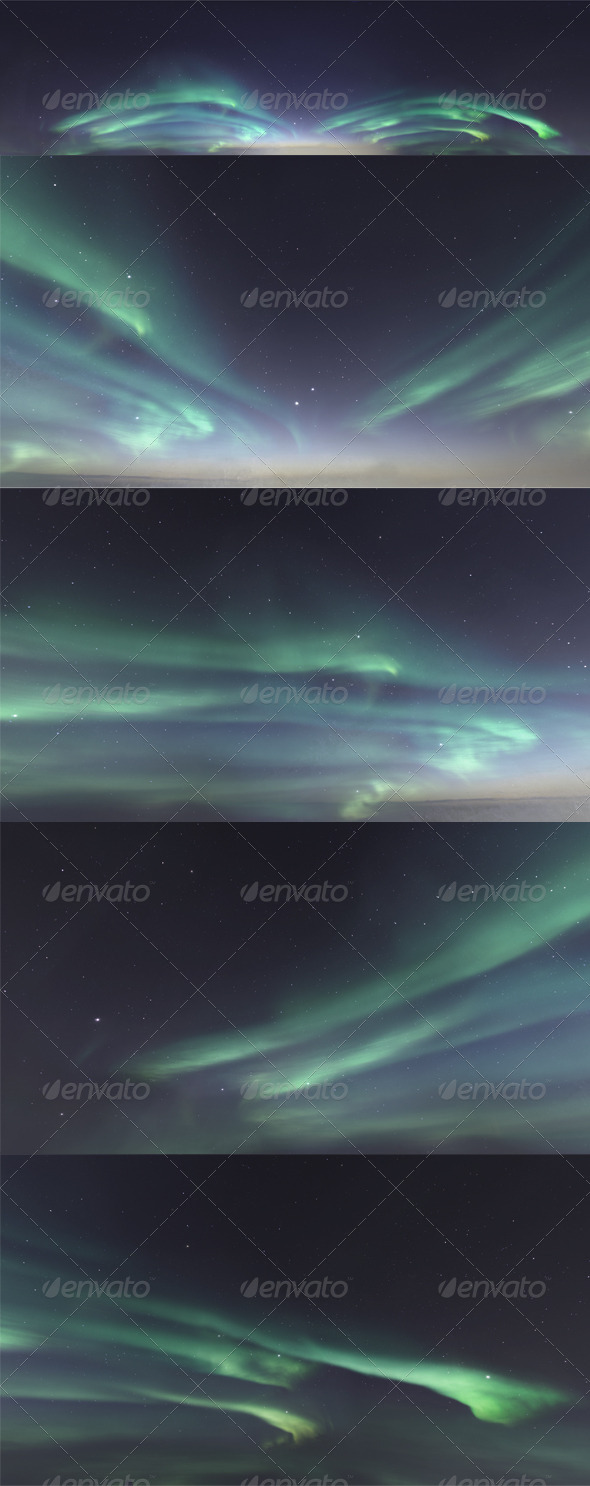Skydome HDRI - Northern Lights - 3DOcean Item for Sale