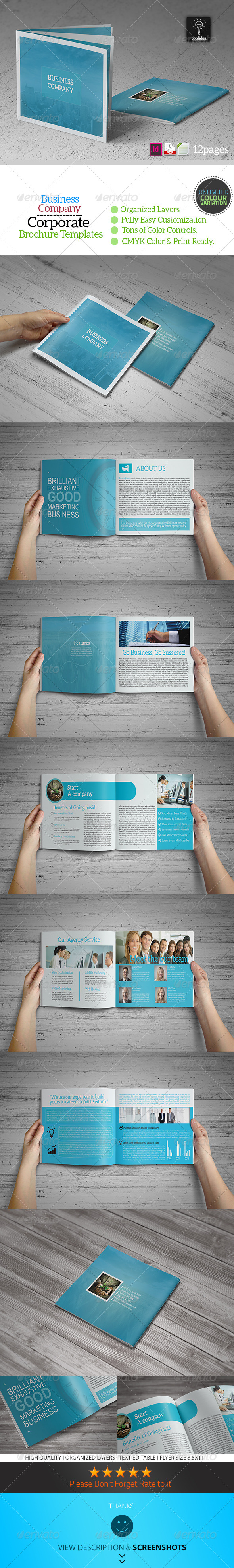 GraphicRiver Business Plan 12 Pages Business Brochure 6730633