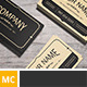 Yukon - Vintage Business Card - GraphicRiver Item for Sale