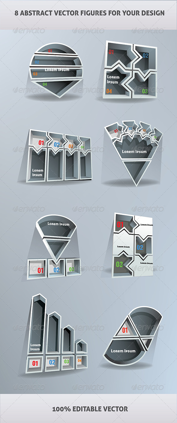 GraphicRiver Abstract Figures 6721028