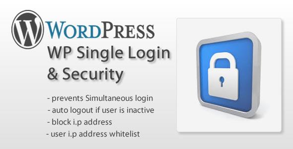 CodeCanyon WP Single Login & Security 6730933
