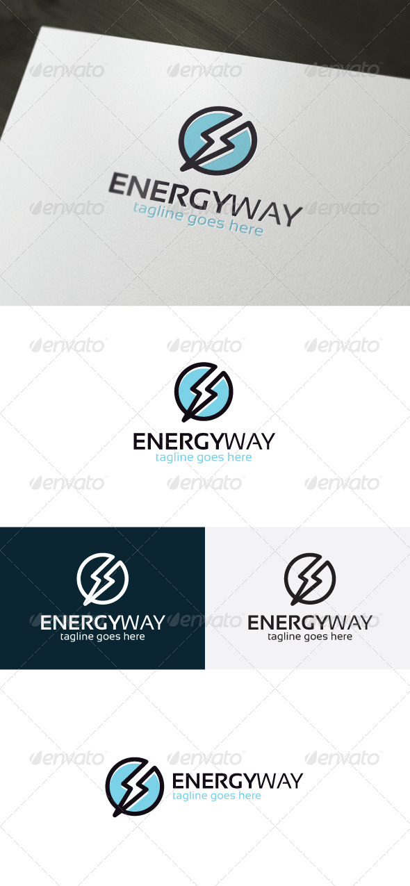 GraphicRiver Energy Way Logo 6731375