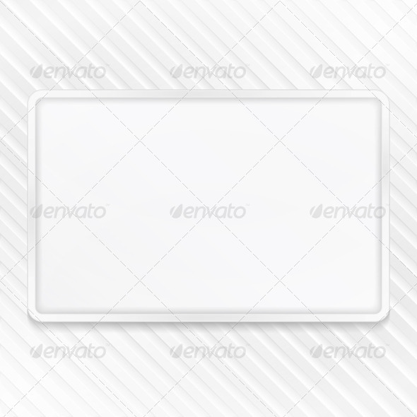 GraphicRiver White Frame on Striped Background 6731473