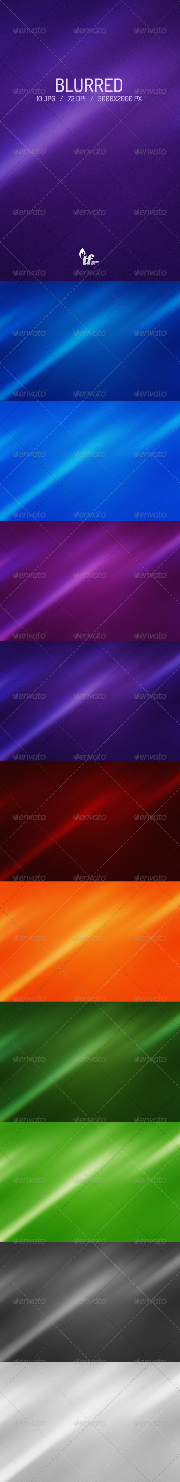 GraphicRiver 10 Blurred Backgrounds 6731478