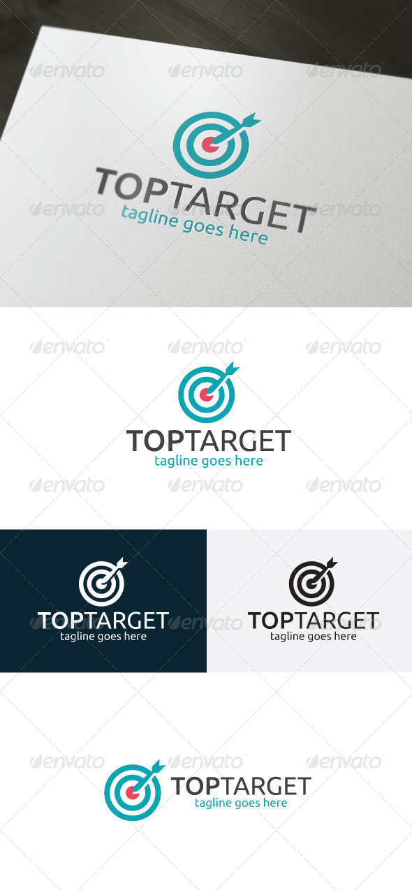 GraphicRiver Top Target Logo 6731540