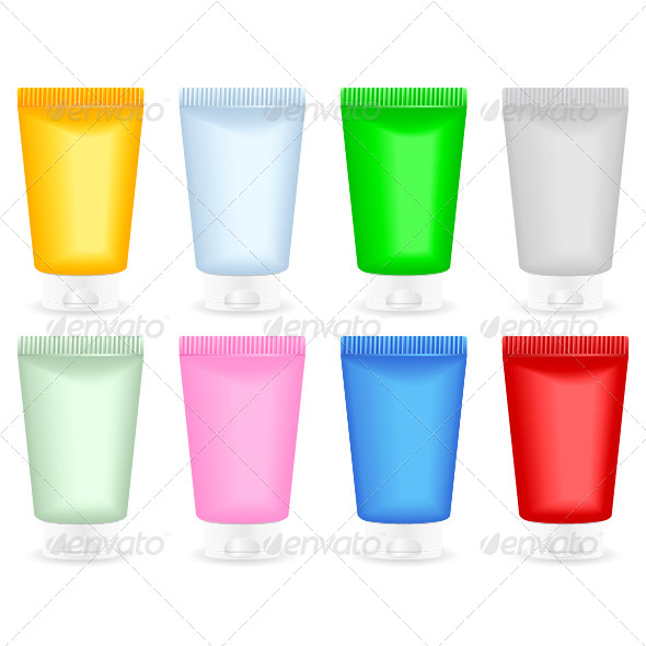 GraphicRiver Cosmetic Containers 6732011