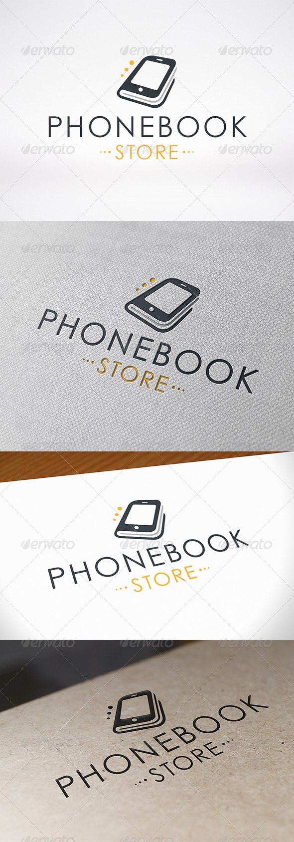 GraphicRiver Phone Book Logo Template 6732160