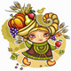 Cornucopia girl - GraphicRiver Item for Sale