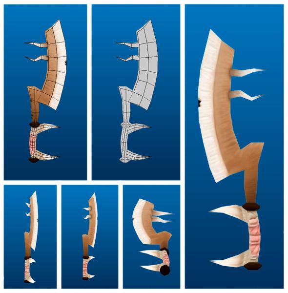 3DOcean Stylish Sword 03 6733449