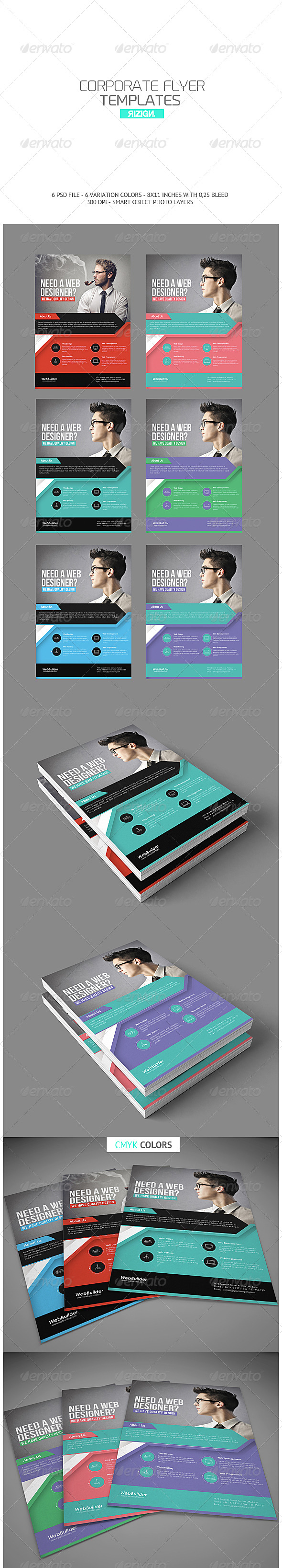 GraphicRiver Corporate Flyer 6733884