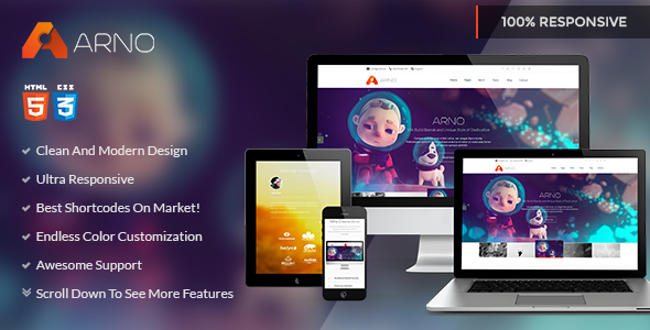ThemeForest Arno Multipurpose Corporate HTML Template 6734098