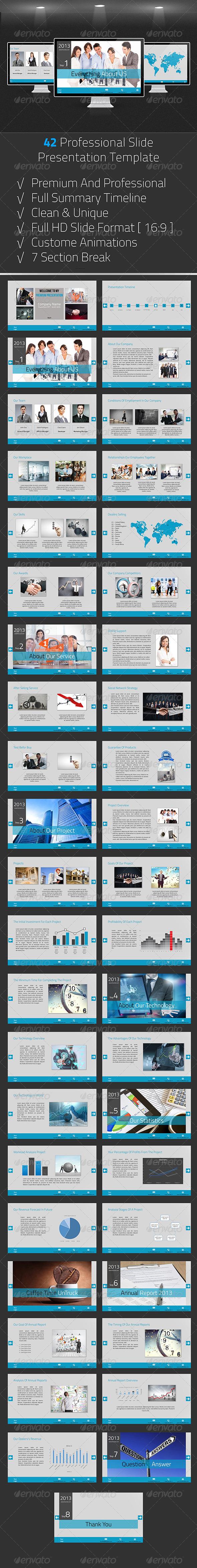 GraphicRiver Business Presentation 6704117